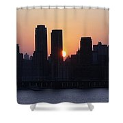 Morning On The Hudson Shower Curtain