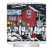 Motif #1 Shower Curtain