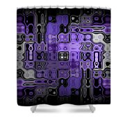 Motility Series 22 Shower Curtain