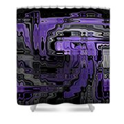 Motility Series 9 Shower Curtain