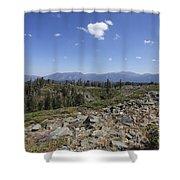 Mount Tallac Trailhead  Shower Curtain