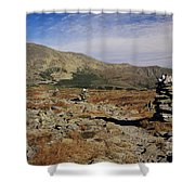 Mount Washington - White Mountains New Hampshire Shower Curtain