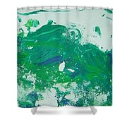 Moving Forward I Shower Curtain