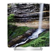 Munising Falls Shower Curtain