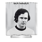 My Maradona Soccer Legend Poster Shower Curtain