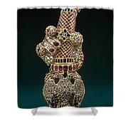 Mysore Treasure Shower Curtain