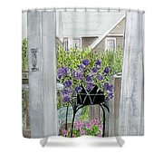 Nantucket Room View Shower Curtain