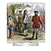 Nathan Hale (1755-1776) Shower Curtain