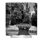 National Garden In Athens Shower Curtain