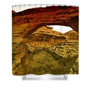 Natural Bridge Shower Curtain by Jeff Swan