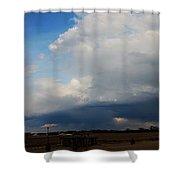 Nebraska Storms A Brewin Shower Curtain