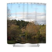 New England Autumn One Shower Curtain