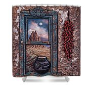 New Mexico Window Shower Curtain