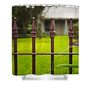 New Orleans Cottage Shower Curtain
