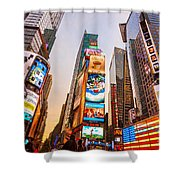 New York City - Times Square Shower Curtain