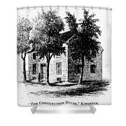 New York Senate, 1777 Shower Curtain