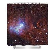 Ngc 2264, The Cone Nebula Region Shower Curtain