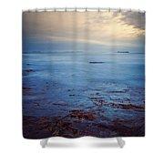 Northumberland Coast Shower Curtain