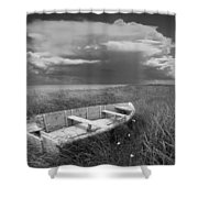 Of Land Sea And Sky Shower Curtain