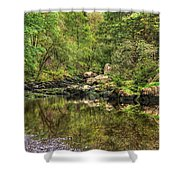 Okertal Shower Curtain