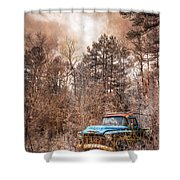 Old Chevy Shower Curtain
