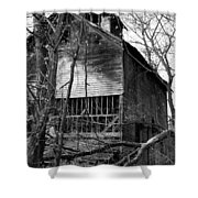 Old Mill Funk Bottoms Shower Curtain