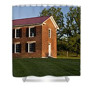 Old Schoolhouse Shower Curtain