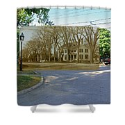 Oliver C. Brownell House On The Commons In Little Compton Rhode Island Shower Curtain