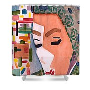 One Ringy Dingy Shower Curtain