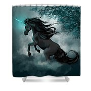 Only Dreams Remain Shower Curtain