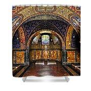 Orthodox Church Interior Shower Curtain