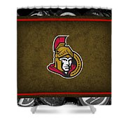 Ottawa Senators Shower Curtain