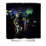 Our Lady Of Guadalupe Festival Shower Curtain