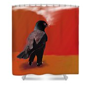 Out For A Walk... Shower Curtain