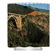 Pacific Coast Highway Shower Curtain by Benjamin Yeager