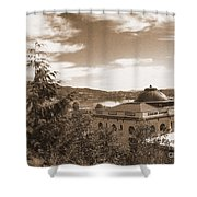 Pacific County Courthouse Timeless Series 8 Shower Curtain