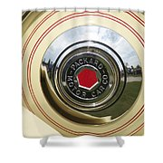 Packard 1936-37 Shower Curtain