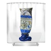 Paint Tube Shower Curtain