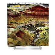 Painted Hills - Oregon Shower Curtain