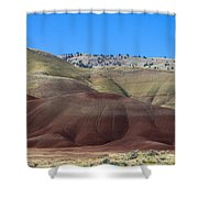 Painted Hills Of Oregon Shower Curtain