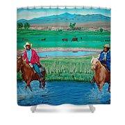 Paiute Cattlemen Shower Curtain