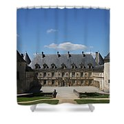 Palace Bussy Rabutin - Burgundy Shower Curtain