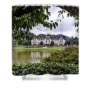 Palacio Quitandinha - Petropolis Brazil Shower Curtain