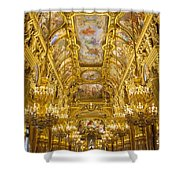 Palais Garnier Interior Shower Curtain