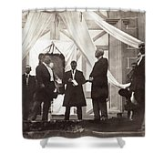 Panama Roosevelt, C1906 Shower Curtain