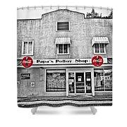 Papa's Poboy Shop Shower Curtain