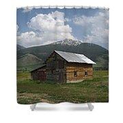 Paradise Valley Montana Shower Curtain