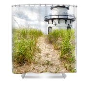 Path To The Beach Shower Curtain