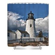Pemaquid Point Lighthouse 4897 Shower Curtain