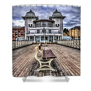 Penarth Pier Pavilion Shower Curtain